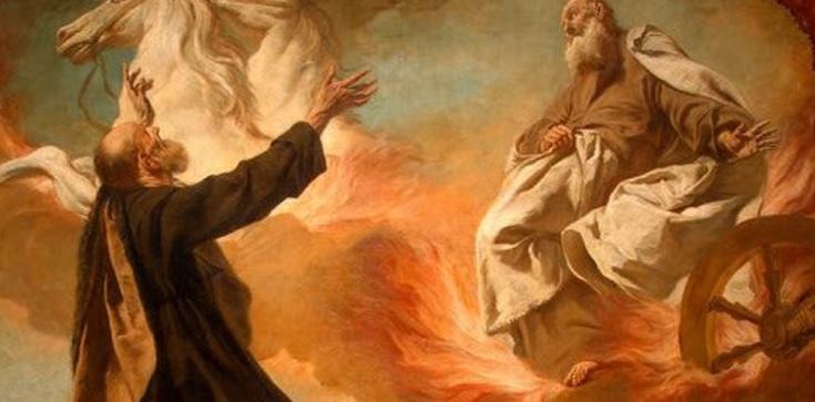 Powstał Eliasz, prorok jak ogień, a słowo jego płonęło jak pochodnia  - zdjęcie