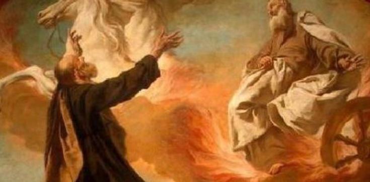 Dziś wpomnienie proroka Elizeusza - był świadkiem wzięcia do nieba proroka Eliasza - zdjęcie