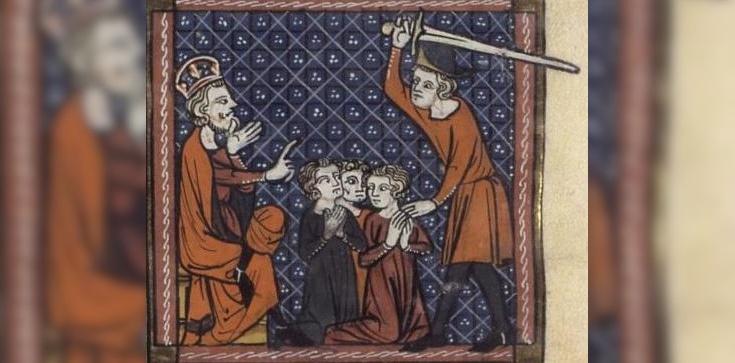 Prot i Hiacynt. Święci męczennicy zabici przez pogan - zdjęcie