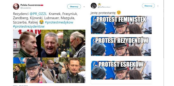 'Apolityczny' protest lekarzy z Mazgułą, Kijowskim i resztą ekipy - zdjęcie