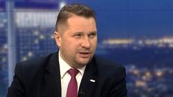 Min. Czarnek komentuje protesty: ,,Wulgarne i obsceniczne'' - miniaturka