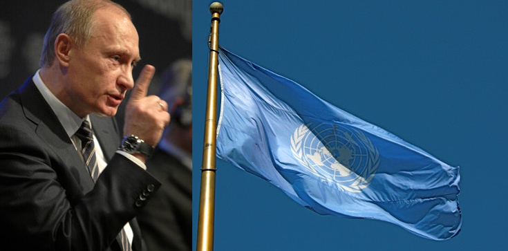 Bloomberg:Putin chce wykorzystać ONZ do okupacji Ukrainy - zdjęcie