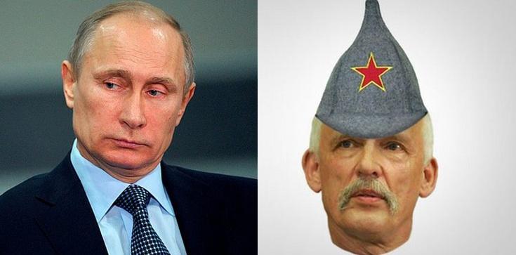 Korwin-Mikke trefniś Putina - zdjęcie