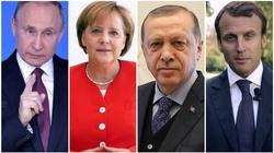 Dr Żółtaniecki: Putin, Merkel, Erdogan, Macron - hipokryzja i cynizm - miniaturka