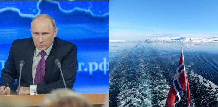 Mistyfikacje wojenne Rosji u wybrzeży Norwegii - zdjęcie