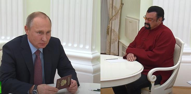 Steven Seagal, nowy członek rosyjskiej partii, wzywa w imieniu Rosji do demilitaryzacji przestrzeni kosmicznej - zdjęcie