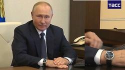 Gdy Putin głosuje, jego zegarek go zdradza kiedy... - miniaturka