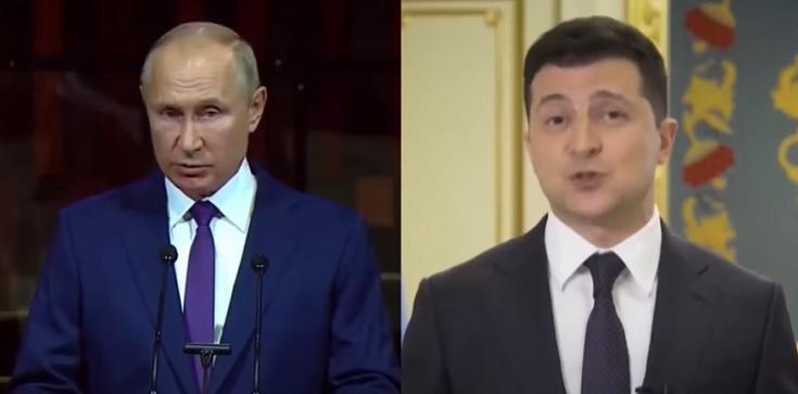 Putin odpowiada na zaproszenie Zełenskiego - zdjęcie