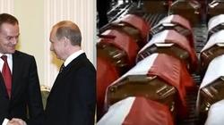 W tej trumnie gorzka prawda o Putinie i rządach PO - miniaturka
