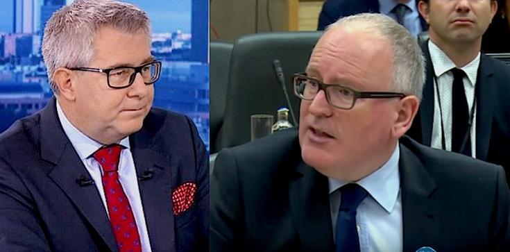 Ryszard Czarnecki: Timmermans łamie unijne prawo! - zdjęcie