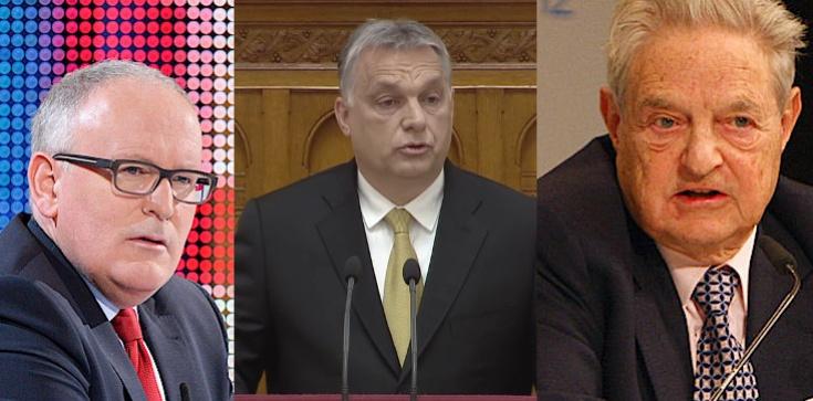 Viktor Orban: Junckera zastąpi Timmermans, sojusznik Sorosa - zdjęcie