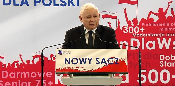 Jarosław Kaczyński: Nie potrzebujemy propagandy, wystarczy nam prawda - zdjęcie