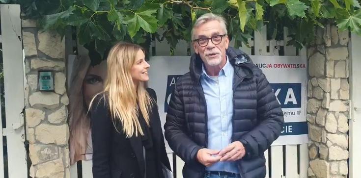 Dziennikarz Agory agituje na rzecz polityk POKO - zdjęcie