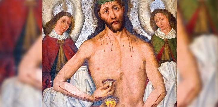 Cudowny obraz Jezusa Pięciorańskiego - wypraszania łask krynica - zdjęcie