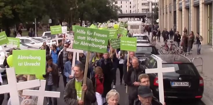 Berlin: 5500 osób manifestowało za życiem - zdjęcie