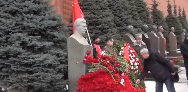 Moskwa ,,czerwienieje''. Kult sowieckich katów narasta - zdjęcie