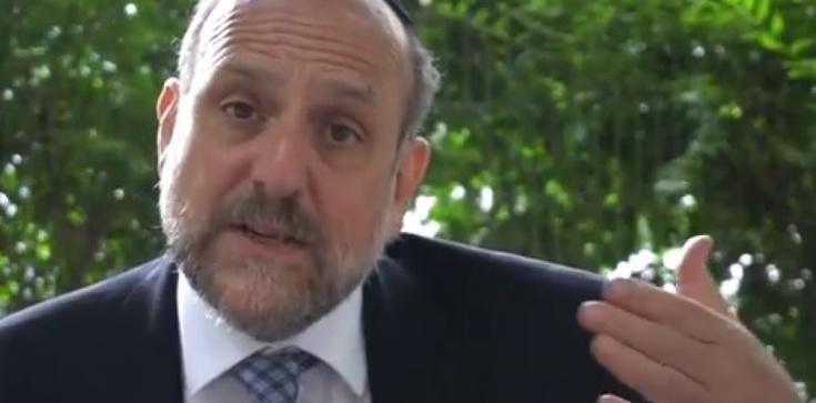 Naczelny rabin Polski odrzuca zaproszenie ministra. ,,To osobista zniewaga'' - zdjęcie