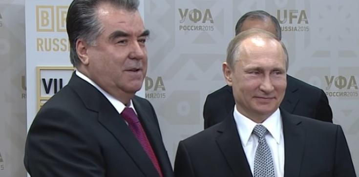 Rosja wzmacnia sojusz z Tadżykistanem. Chodzi o Afganistan - zdjęcie