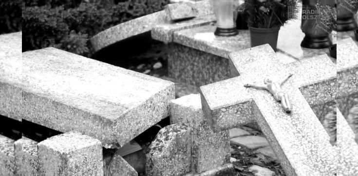 Olsztyn: nieznani sprawcy zdewastowali groby dzieci - zdjęcie