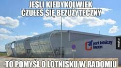 Radom chce rozbudować lotnisko. Jedyne 100 milionów złotych - miniaturka