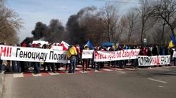 Ukraińskie służby udaremniły kolejną rosyjską prowokację. 'Bułgarski' protest bez Bułgarów... - miniaturka
