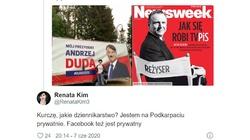 Dziennikarka Newsweeka ,,pozdrawia'' z Podkarpacia - miniaturka