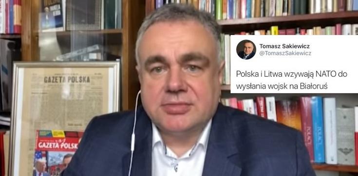 Rosyjskie fake newsy na Twitterze T. Sakiewicza  - zdjęcie
