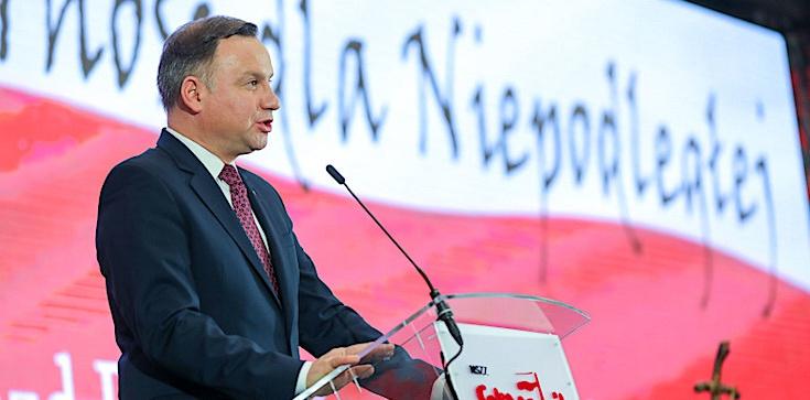 Prezydent: ,,Solidarność'' wyprowadziła Polskę zza żelaznej kurtyny - zdjęcie