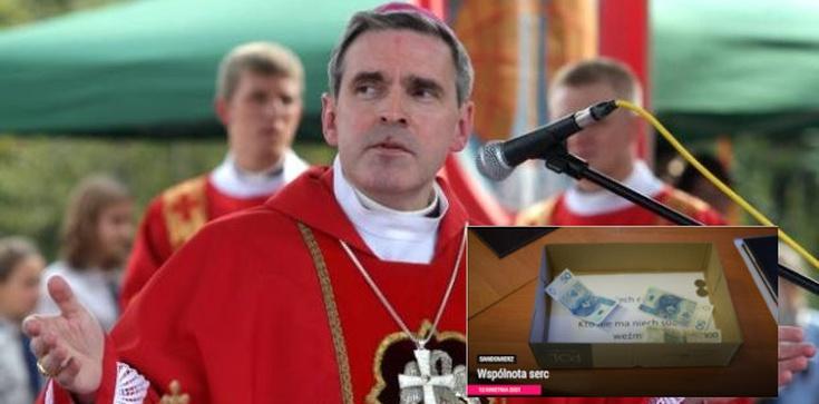 ,,Kto ma, niech wrzuci. Kto nie ma, niech weźmie''. Biskup organizuje niezwykłą akcję charytatywną  - zdjęcie