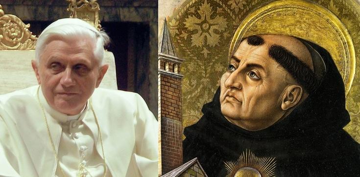 Benedykt XVI: W epoce błędów studiujcie św. Tomasza - zdjęcie