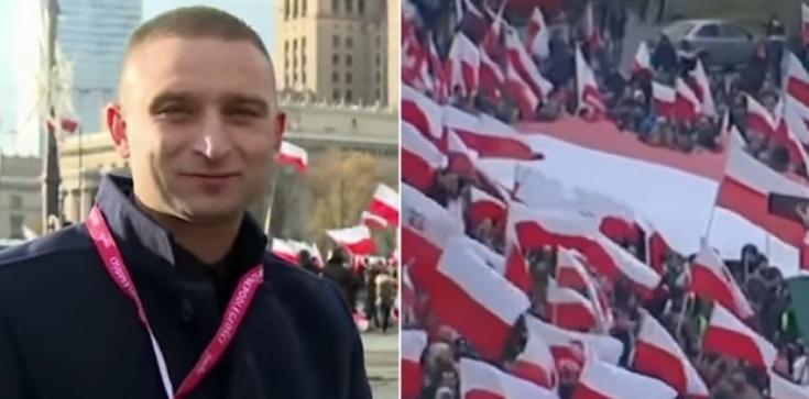Robert Bąkiewicz dla Frondy:  Maszerowali patrioci, prowokatorzy darli mordy - zdjęcie