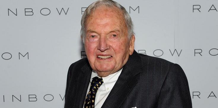 Zmarł David Rockefeller - zobacz, ile zostawił! - zdjęcie
