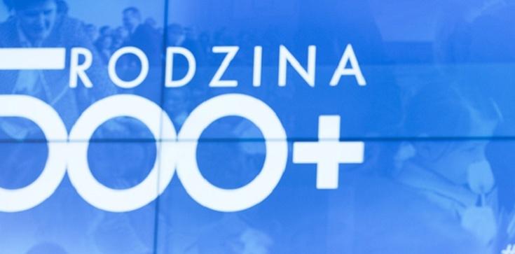 Program 500 plus ,,uwiera liberalną Polskę''. Rodzi się więcej dzieci - zdjęcie