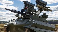 Rosyjski robot bojowy: nie pije i nie zaraża, i działa... dopóki nikt go nie zagłuszy... - miniaturka