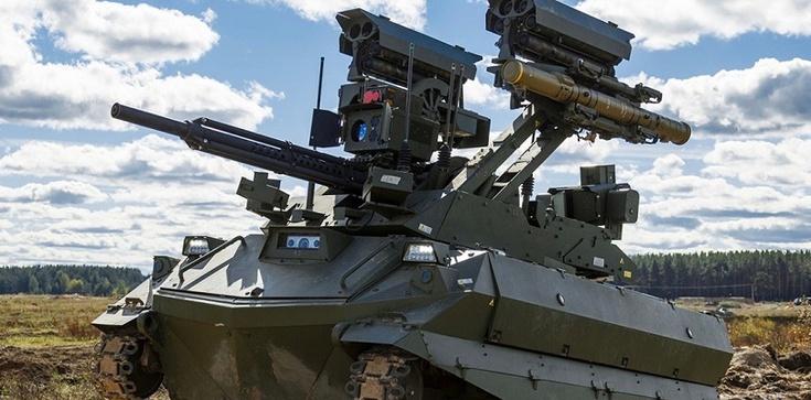 Rosyjski robot bojowy: nie pije i nie zaraża, i działa... dopóki nikt go nie zagłuszy... - zdjęcie