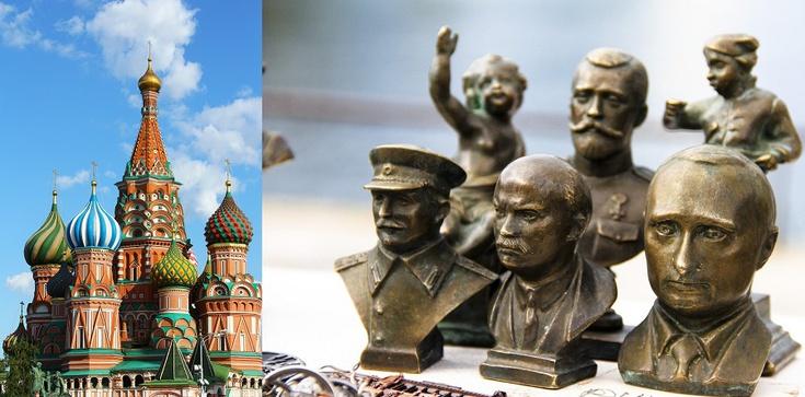Twarze Putina i Stalina na mozaikach w głównej cerkwi rosyjskiej armii - zdjęcie