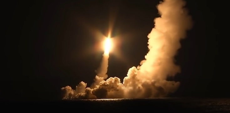 Rosja straszy Zachód bronią atomową [Wideo] - zdjęcie