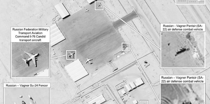 USA demaskują zbrojną aktywność Rosjan w Libii - zdjęcie