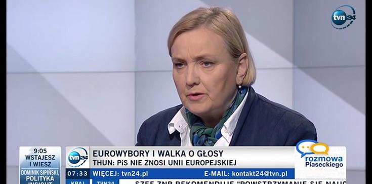 Róża Thun: Schetyna przeciera drogę Tuskowi - zdjęcie