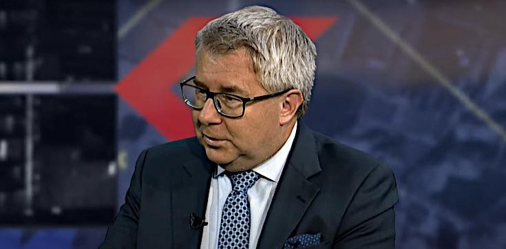 TYLKO U NAS! Ryszard Czarnecki o słowach Biedronia: Żydzi powinni protestować! - zdjęcie