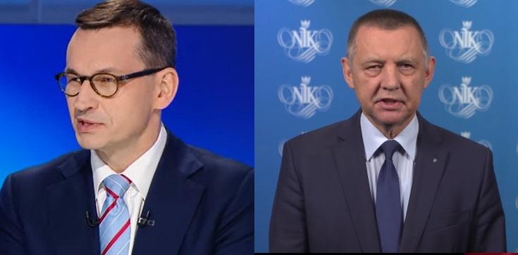 """Morawiecki skomentował spekulacje o odwecie na Banasiu. """"CBA działa rutynowo"""" - zdjęcie"""