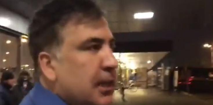 Saakaszwili odesłany do Polski. Samolot z politykiem wylądował w Warszawie - zdjęcie