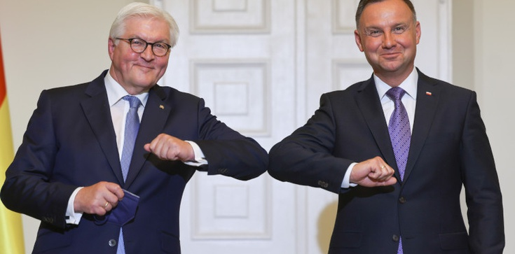 Co z pomnikiem polskich ofiar IIWŚ? PAD spotkał się z prezydentem Niemiec  - zdjęcie