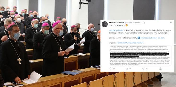 ,,Cyrk na kółkach''. Biskupi ocenzurowali własny list… - zdjęcie