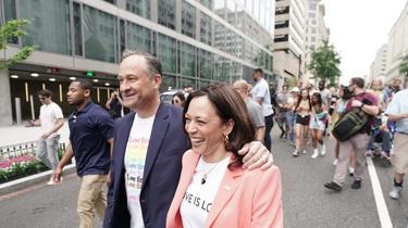 Harris popycha homoseksualną rewolucję. Wzięła udział w ,,marszu dumy'' - miniaturka