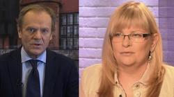 Anita Gargas: Tusk stchórzył. Coś sprawiło, że wolał zostać zdrajcą - miniaturka