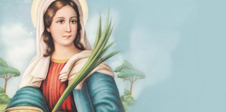 Święta Łucja, dziewica i męczennica. Wspiera polskich górali - zdjęcie