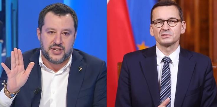 Salvini: Z Morawieckim i Orbanem położymy podwaliny pod Europę przyszłości  - zdjęcie