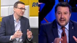 Pandemia, unijne środki i relacje polsko-włoskie. Premier rozmawiał z Matteo Salvinim  - miniaturka