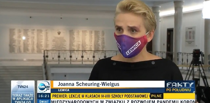 """Scheuring-Wielgus wulgarnie do rzecznika PiS: """"Wypier**lać"""" [Wideo] - zdjęcie"""
